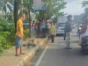Kecelakaan yang menewaskan mahasiswa berasal dari Tangerang