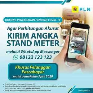 Cater Meter Mandiri. (Fb/PlnDistribusiBanten)