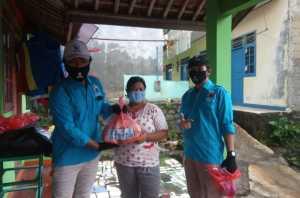 Bantuan Pangan dan Masker Gelora Tangsel DPC Serpong Utara