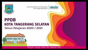 Info Grafis PPDB Tangsel 2020. (Foto/Dindukbud Tangsel)