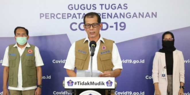 Ketua Gugus Tugas Nasional Covid19 Doni Monardo. (Foto/Istimewa)