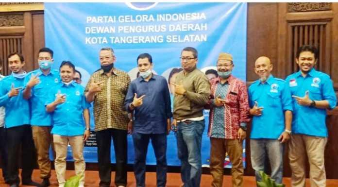Deklarasi Dukungan DPD Gelora Tangsel Untuk Benyamine Pilar di Pilkada Tangsel