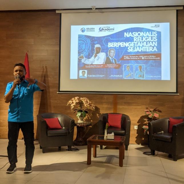 Fikri Hamadi, S.Si, Ketua DPD Gelora Tangerang Selatan. (Foto/JKW)
